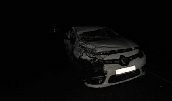 Пассажирка иномарки попала в больницу.