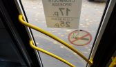 Девочка выпала из маршрутного автобуса.