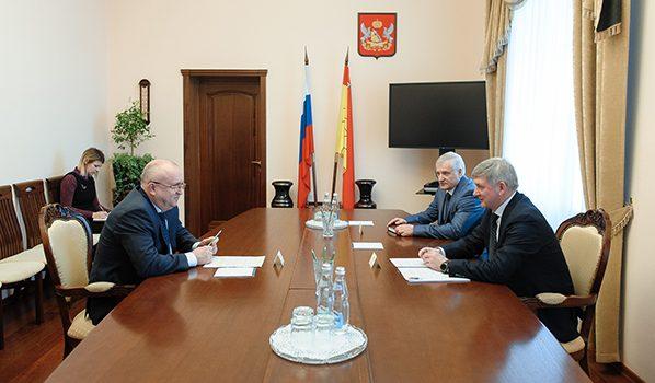 Встреча с руководителем управления ФНС по Воронежской области.