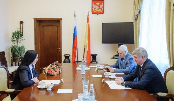 Встреча Александра Гусева с Аллой Стрелковой.