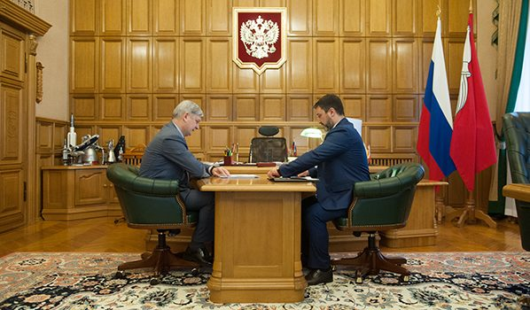 Александр Гусев и Юрий Байрамов.