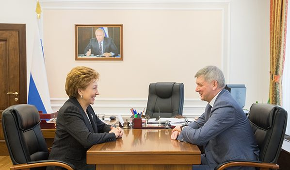 Галина Карелова и Александр Гусев.