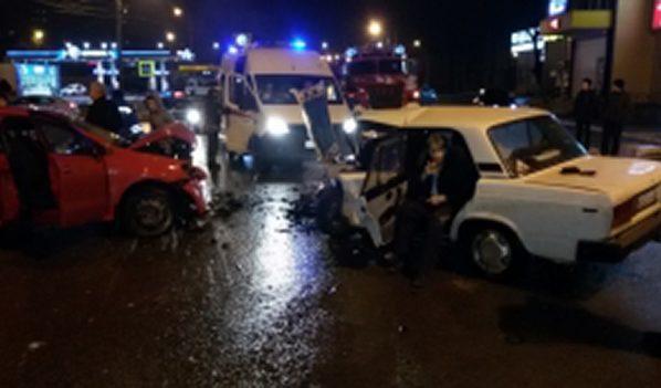 Авария на Дорожной.