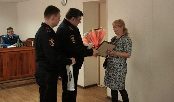 Людмилу Полеваеву наградили.