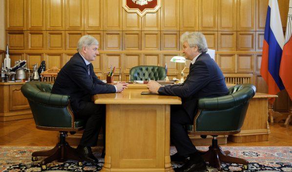 Александр Гусев и Владимир Ходырев.