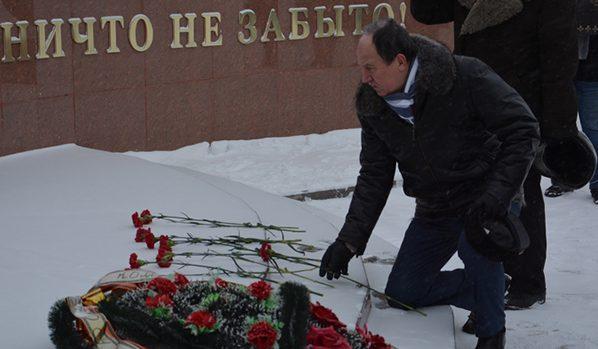 Депутат Николай Образцов.