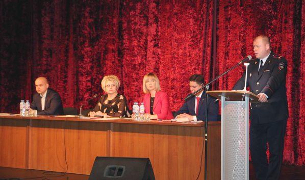 Рабочее совещание руководителей образовательных учреждений города.