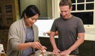 Марк Цукерберг с супругой.