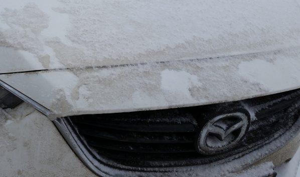 Угнали Mazda.
