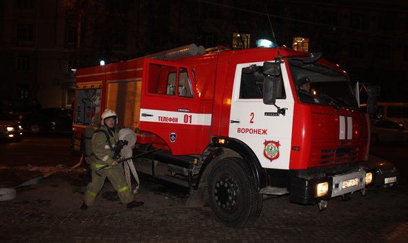 Пожарная машина.