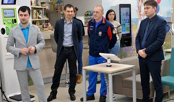 Дмитрий Саутин встретился со спортсменами.