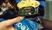 В кинотеатре.