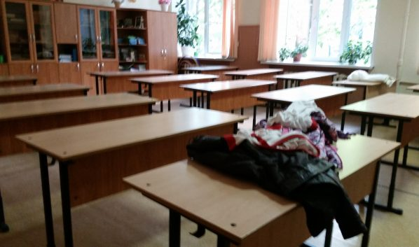 В школе объявлен карантин.
