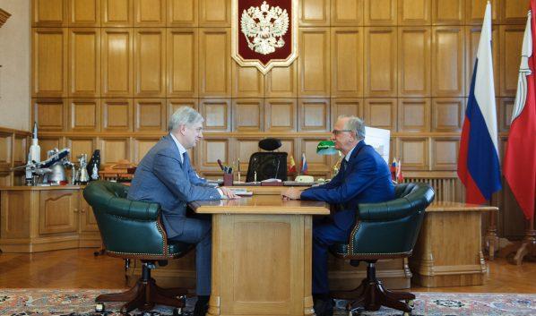 Александр Гусев и Александр Соловьев.