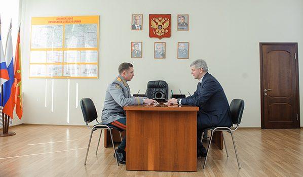 Александр Гусев и Яков Резанцев.
