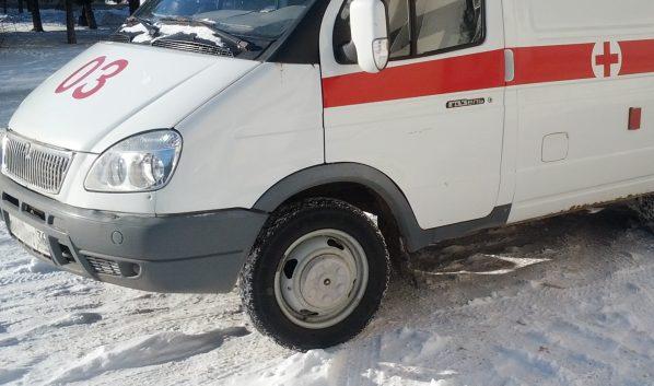 Пассажира авто доставили в больницу.