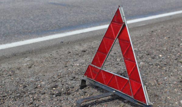 В Воронеже столкнулись пять машин.