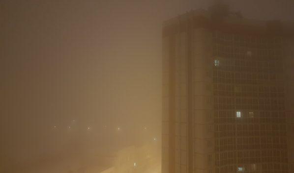 В городе возможен туман.
