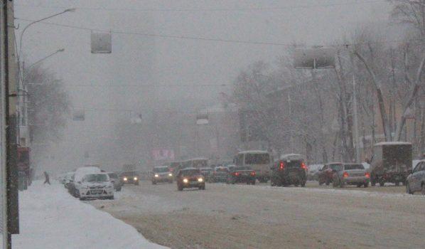 Воронежцев вновь предупреждают о снегопаде.