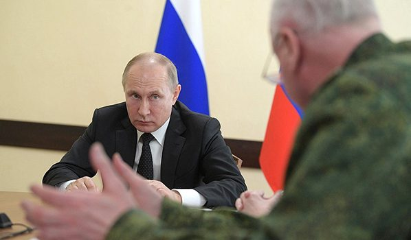 Владимир Путин в Кемерове.
