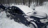 Водителя и пассажира этого авто госпитализировали.