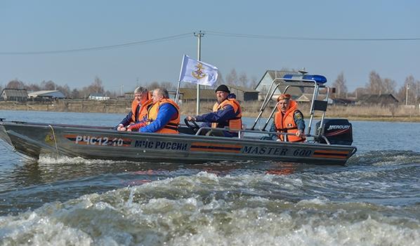 Контроль за паводковой ситуацией в Воронежской области.