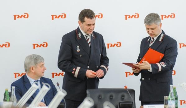 Главе региона представили нового руководителя ЮВЖД.