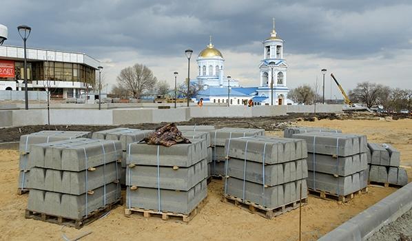 Реконструкция Советской площади.