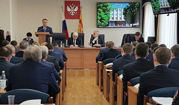 Гордума избрала врио руководителя Воронежа Кстенина мэром города