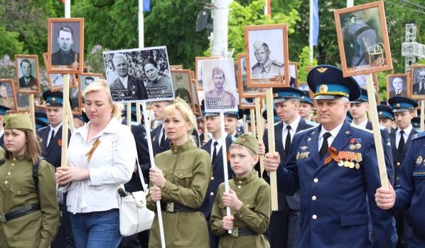 По Воронежу вновь пройдет «Бессмертный полк».