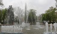 В городе начнут работу фонтаны.