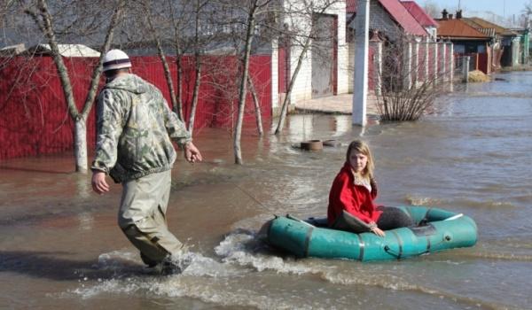 ВВоронежской области из-за паводка оказались подтоплены 358 домов