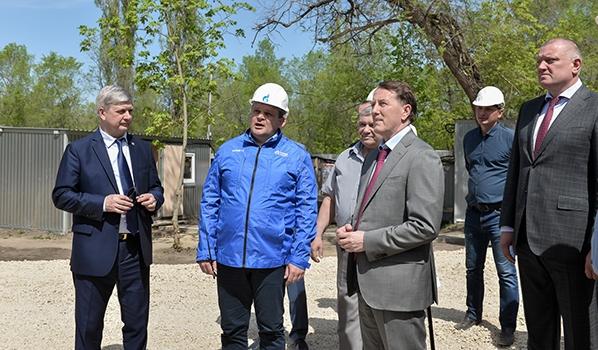 Алексей Гордеев и Александр Гусев оценили строительство ФОКа.