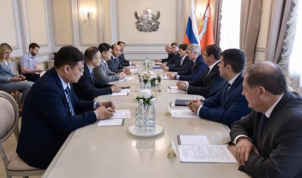 Встреча с делегацией КНР.