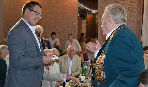 В Воронеже чествовали ветеранов.