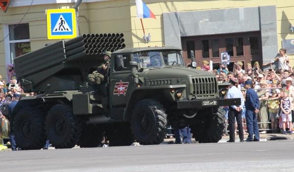 Парад Победы-2018 в Воронеже.