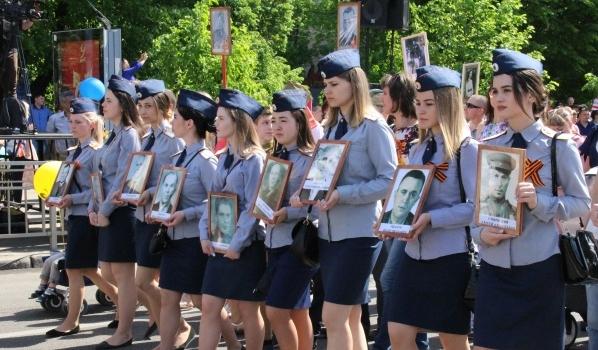 Бессмертный полк в Воронеже.