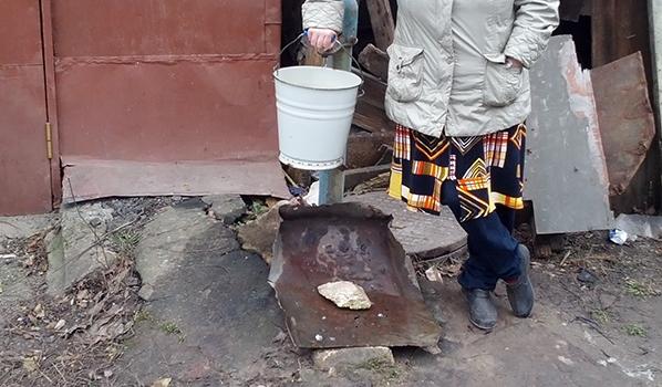 Воронежцы сидят без воды.