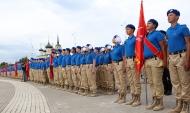 Церемония вступления в Юнармию.