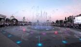 «Сухой» фонтан на Советской площади.