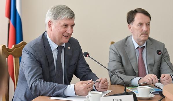 Александр Гусев и Алексей Гордеев.