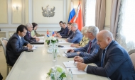 Встреча с послом Кубы.