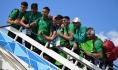 Футболисты сборной Марокко.