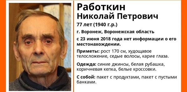 Николай Работкин.