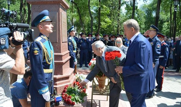Сергей Лукин на торжественной церемонии.