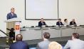 Александр Гусев на партийной конференции.