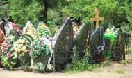 С кладбищ воруют оградки, лавочки и надгробия.
