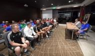 Встреча с президентом Королевской марокканской футбольной федерации.