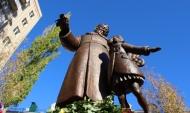 Памятник Самиулу Маршаку.