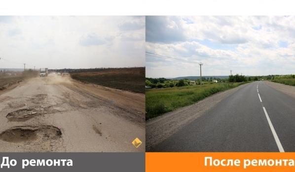 Дорога в обход Воронежа.